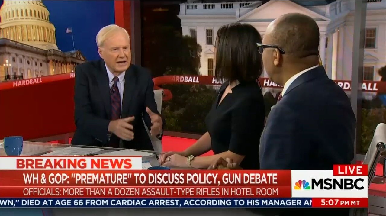 Video matthews compares gun rights advocates to north vietnamese panel smears nra