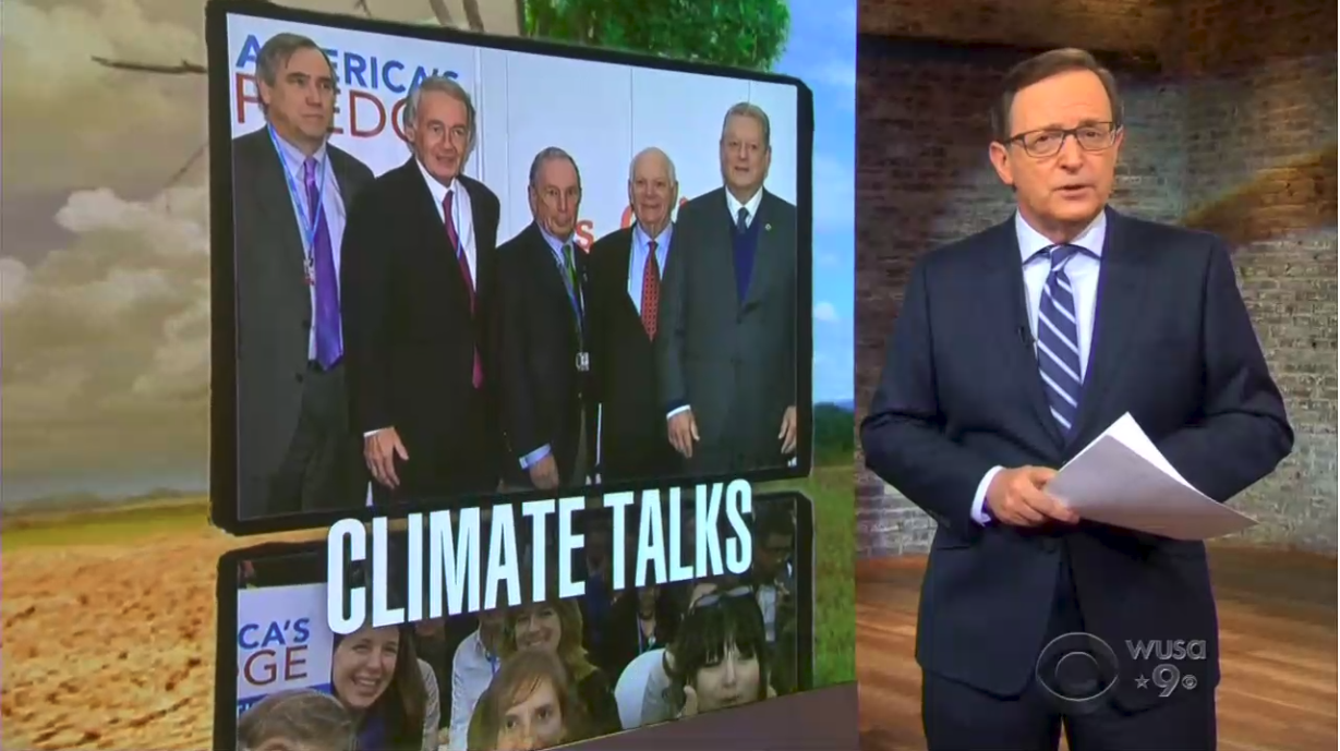 CBS on Climate Change: 'Saving the World Has Been Harder' Since Trump