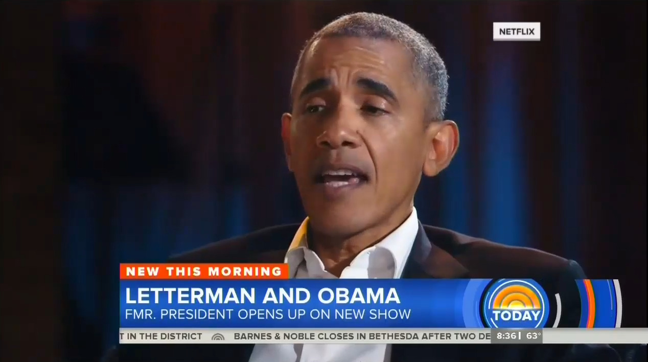 Obama Tells Letterman: Fox News Viewers 'Living on a Different Planet'