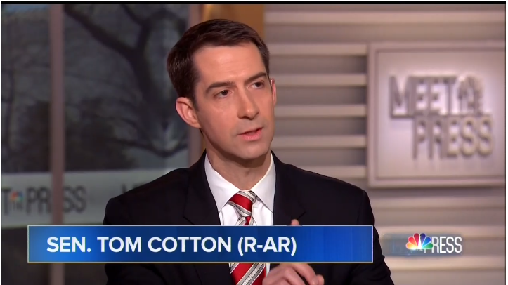 Senator Cotton Slams Media for Buying Schumers Ridiculous Border Offer