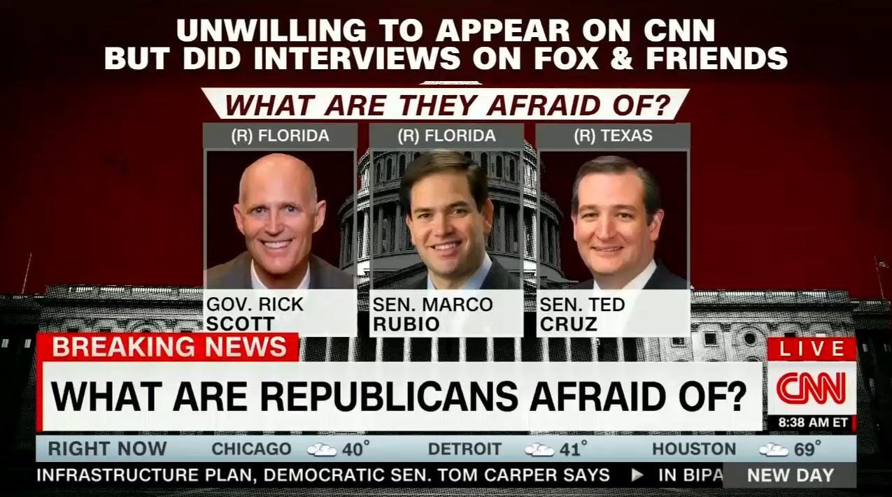 Ted Cruz Blasts Cuomo for 'Falsely Claiming I'm Afraid to Talk to CNN'