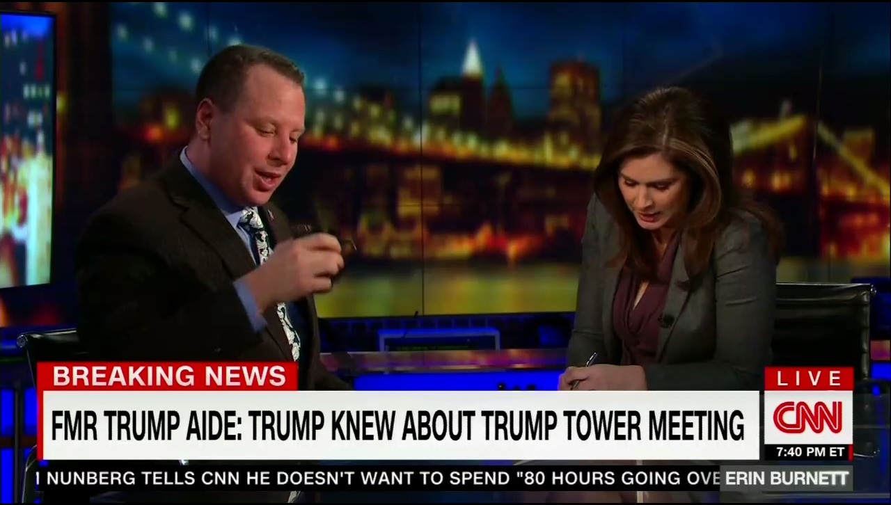 CNN Spends 75 of Airtime on Former Trump Aide Nunberg