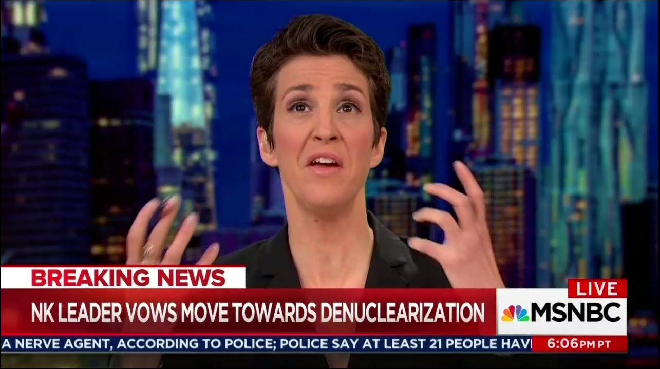 Maddow Seethes