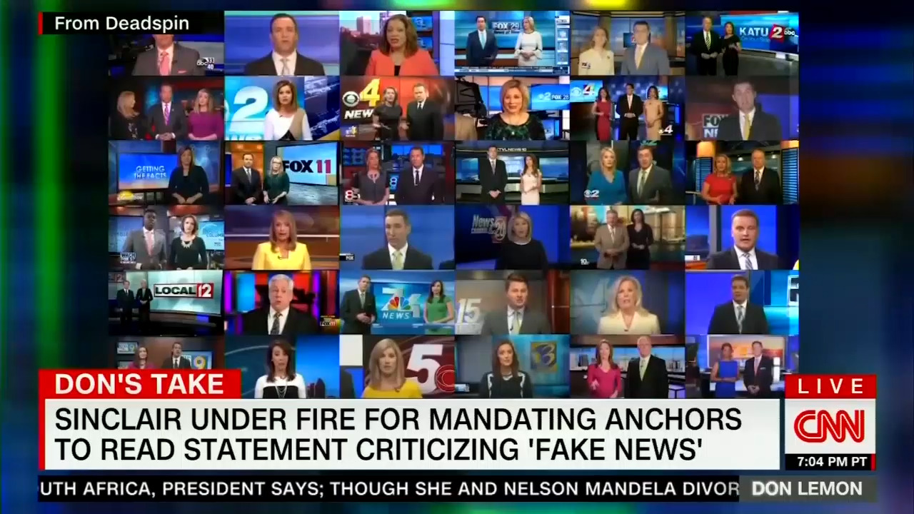 Panic in the Newsroom: CNN, MSNBC Spend 211 Minutes Trashing