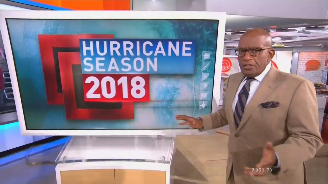 NBC's Roker Now Says Climate Change Causing Fewer Hurricanes
