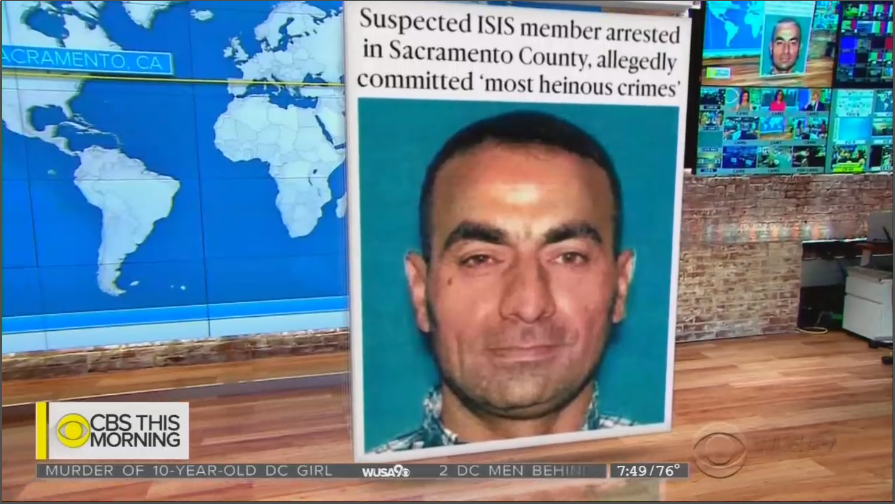 ABC, NBC Ignore ISIS Member Arrested in U.S., Infiltrated as a Refugee