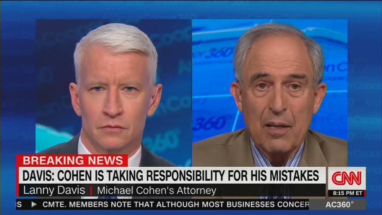 networks punt on lanny davis blowing huge hole in cnn s trump tower
