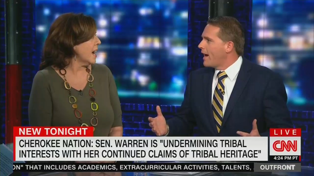 Cnns Jennings Schools Lefty Walsh Over Bizarro Elizabeth Warrens