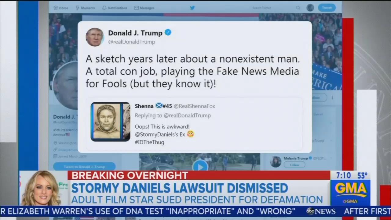 Networks Downplay Avenatti, Stormy Daniels Having Defamation Suit Tossed Against Trump