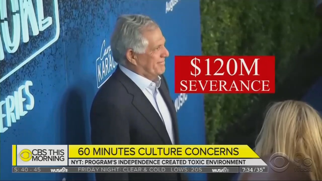 CBS: Aside From Alleged Sexual Harassment Here, Things Are