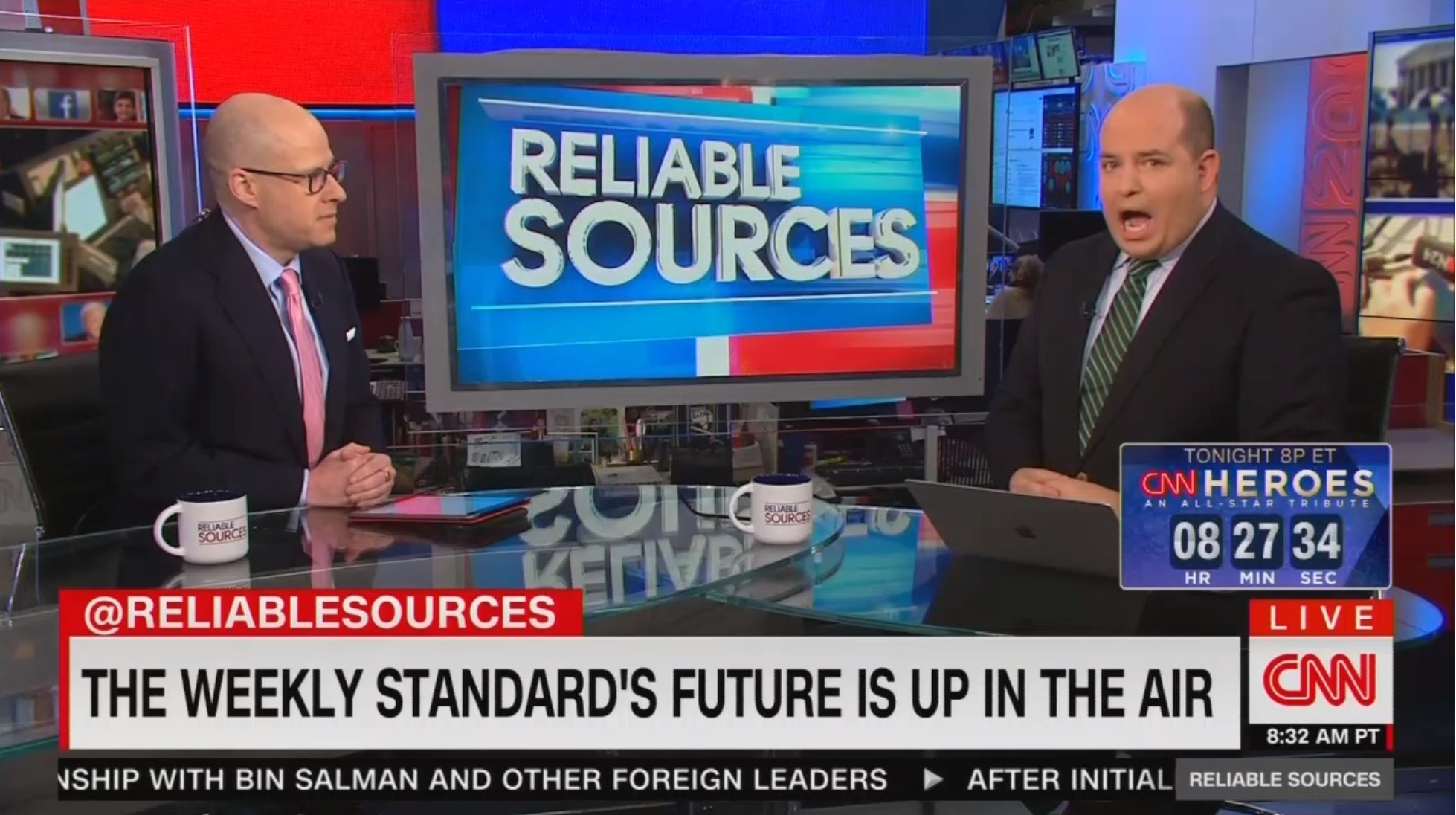 CNN's Stelter Takes Shots 'Criminal Presidency' Ran By Trump, Fox News