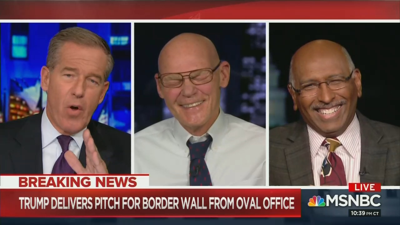 Watch How Even Lyin' Brian Williams, Guests Thought the Democratic Response Was Cringeworthy!
