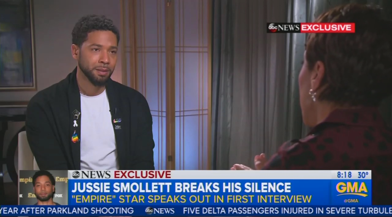 Robin Roberts Complains Smollett Interview Was a 'No-Win Situation