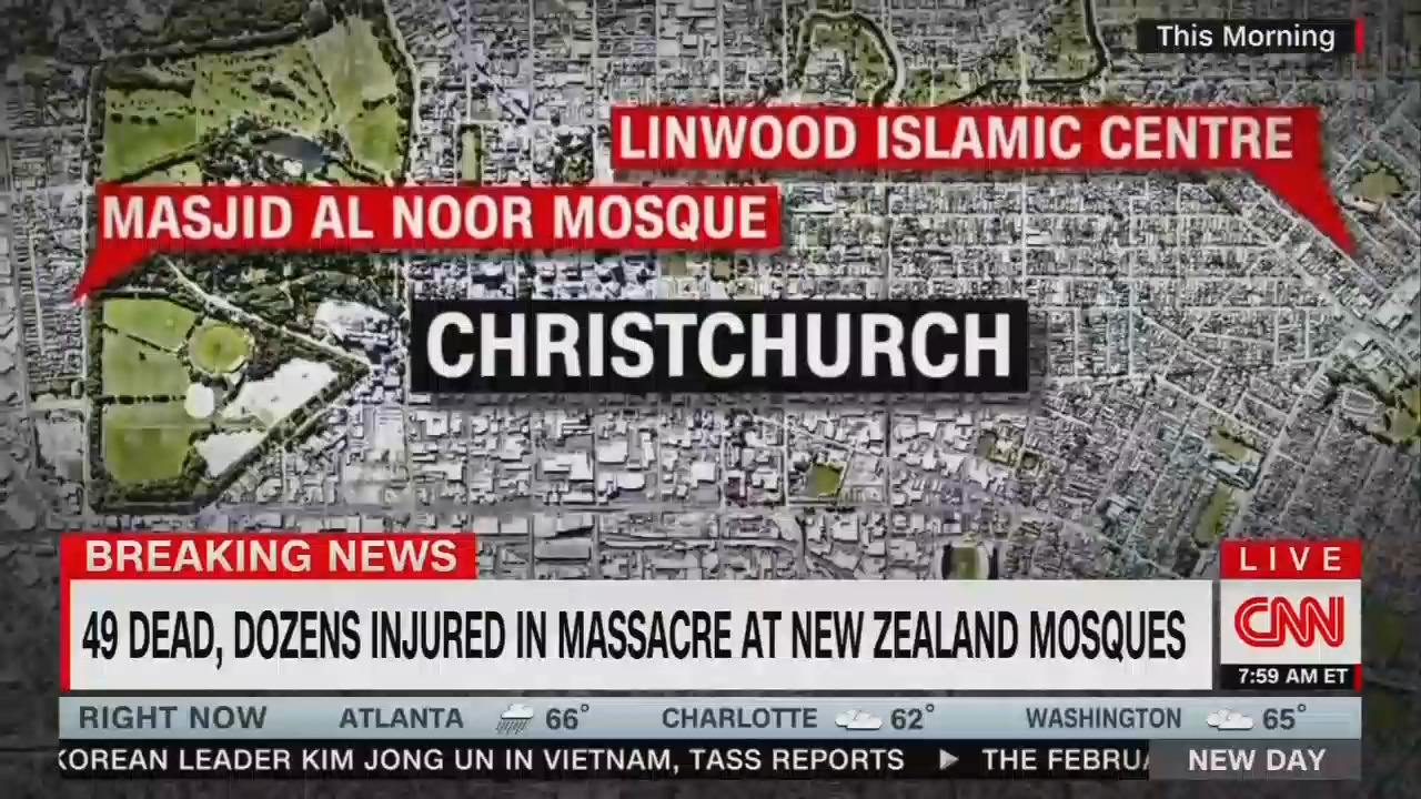 Divisive CNN Blames Trump Giving NZ Terrorist 'Credence,' 'Validity'; There's a 'Connection'