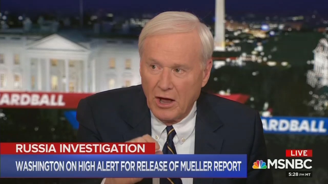 Matthews: 'Will Get an Asterisk in Our History Books' Next to Trump Because of Russia?