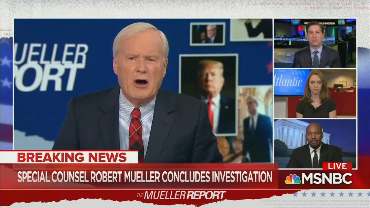 Image result for msnbc mueller investigation