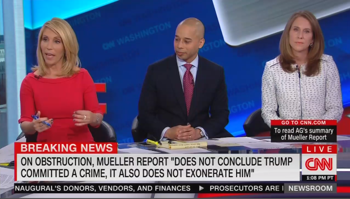 CNN Desperately Clings to Their Claims That Trump Obstructed Justice