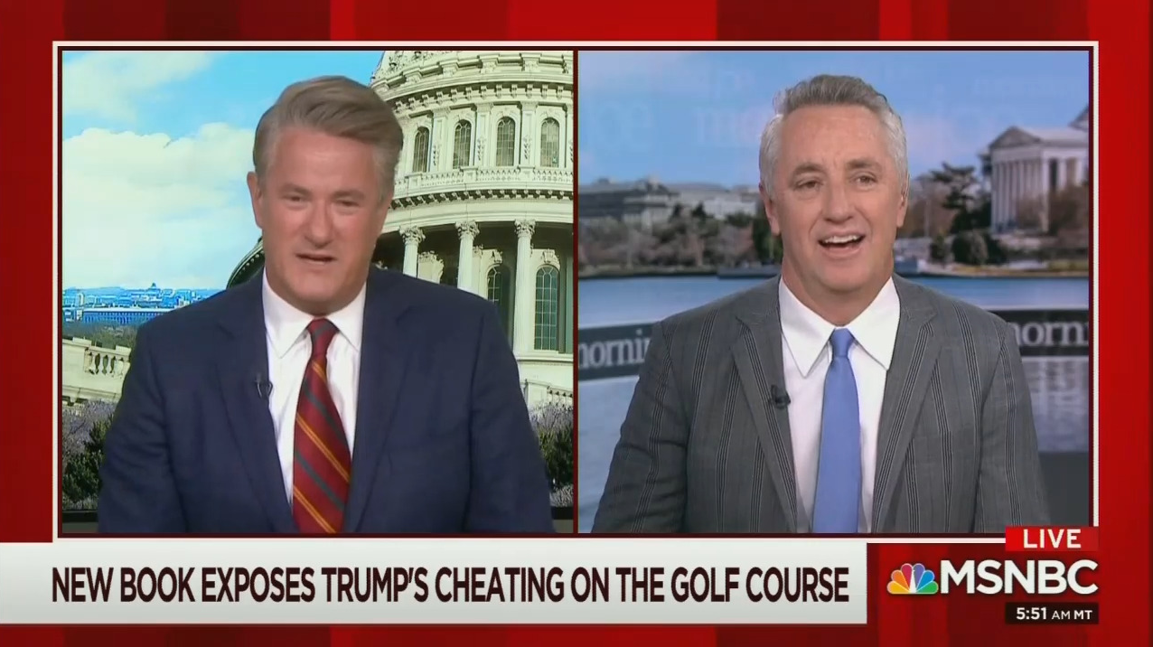 Morning Joe Attacks Trump For Lying Cheating About Golf