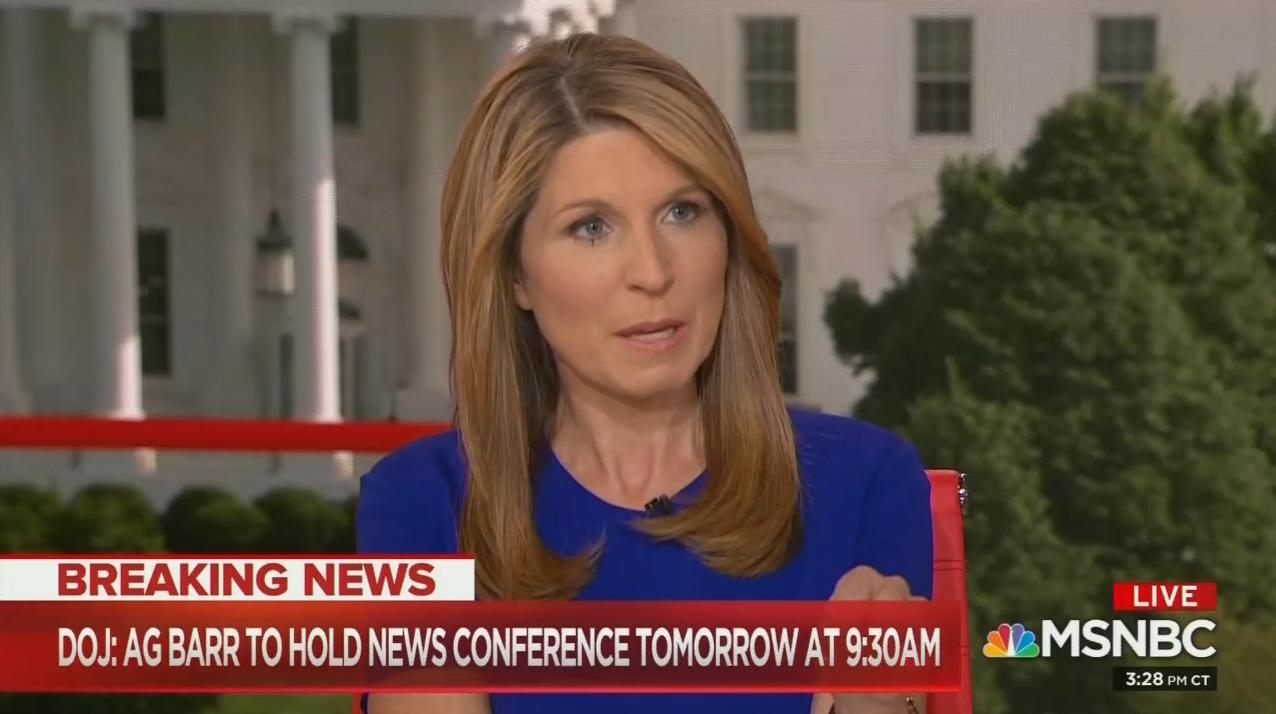 MSNBC Meltdown Over Barr Holding Mueller Report Press Conference
