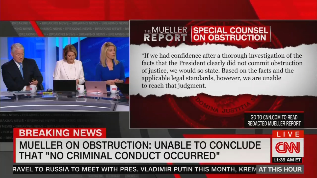 CNN Panel Celebrates Mueller Report as 'Road Map' for Dems to Impeach Trump