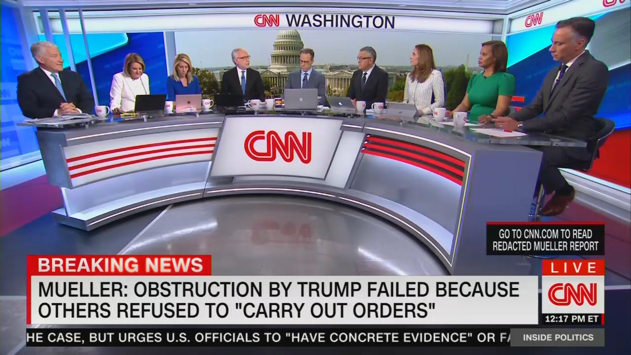CNN Loons: Trump Is Screwed Since Mueller Report Is 'Pretty Bad,' 'Very Damaging'