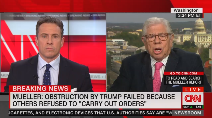 CNN: Mueller Found 'a Ton of Collusion,' Only 'Sophisticated' People See It