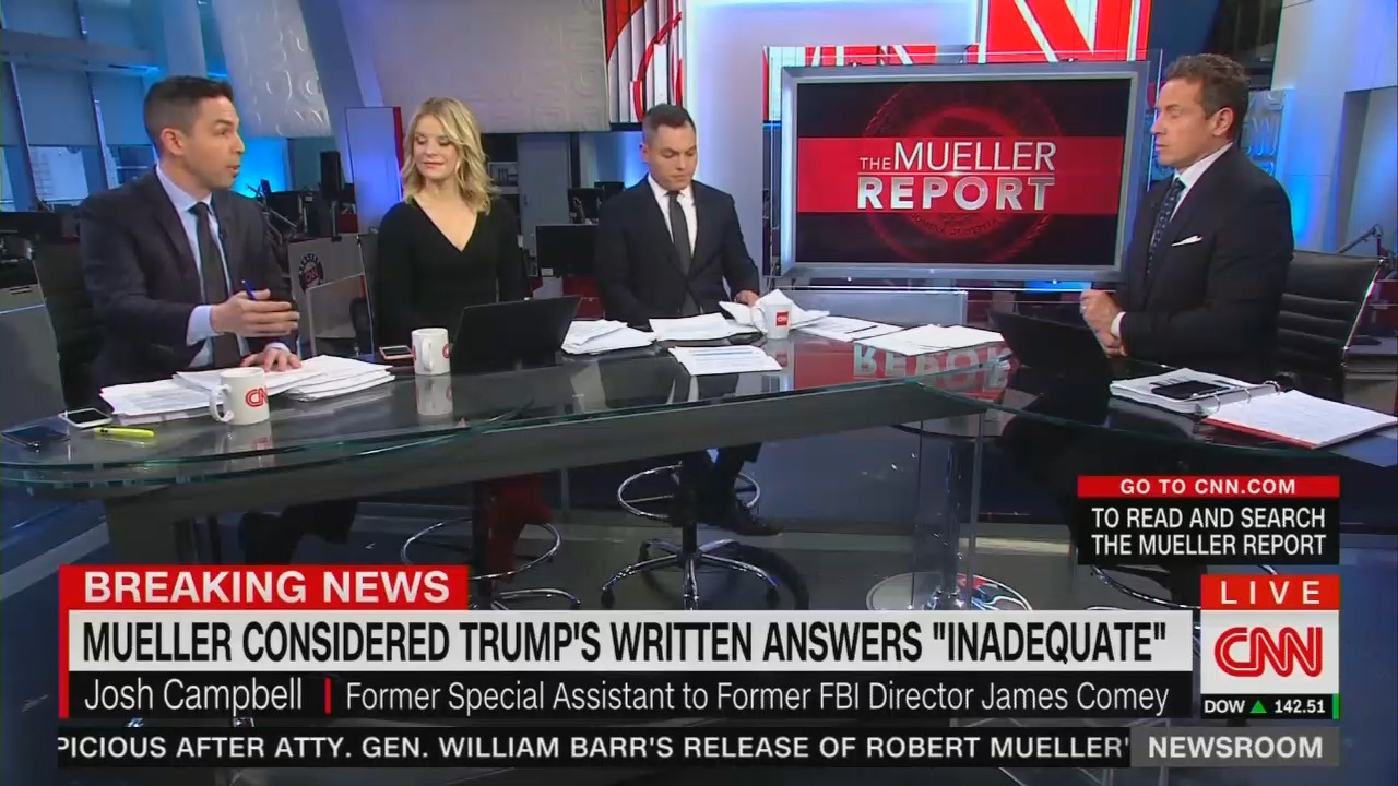 Afternoon CNN Insists Stating 'No Collusion' Is a 'Red Herring'; Media Were Proven Right