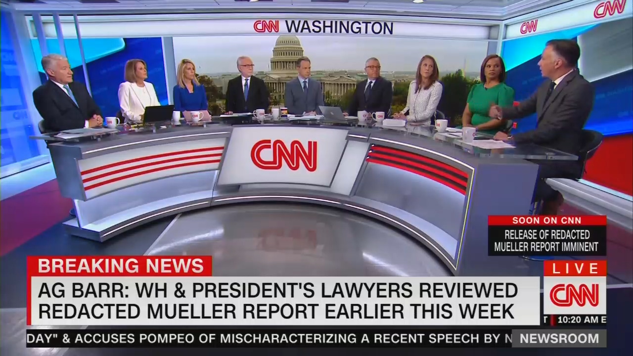 PANIC! CNN Is in Need of a Safe Space After a Delusional FREAK OUT Over Barr Presser