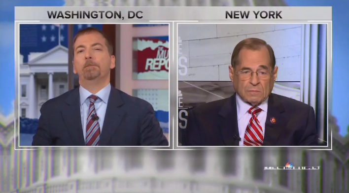 Chuck Todd Grills Nadler: Why Haven't Dems Started Trump's Impeachment