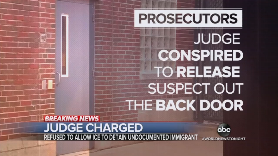 Real Obstruction: CBS, NBC Ignore Judge Charged for Helping Illegal Evade ICE