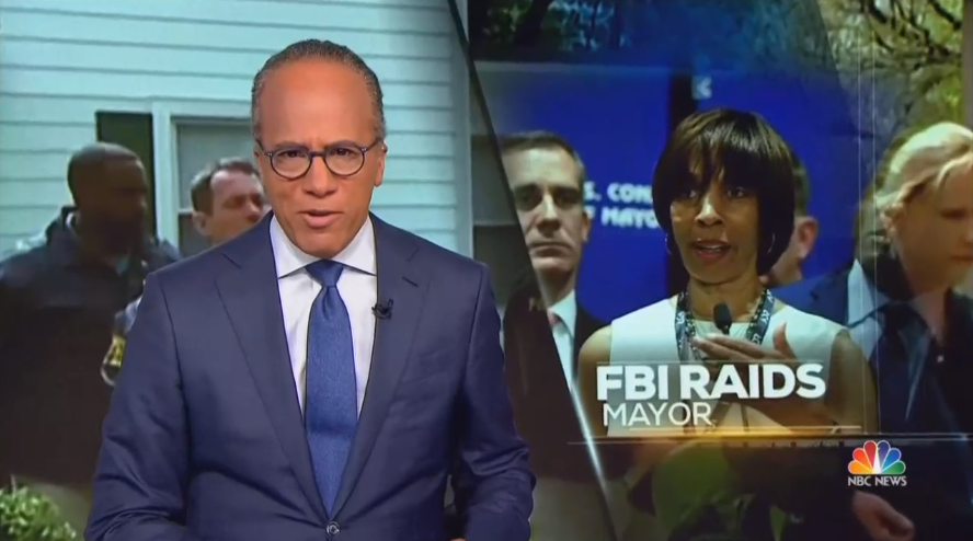 CBS Omits Dem Mayor Raided By FBI/IRS, ABC Hides Party Affiliation