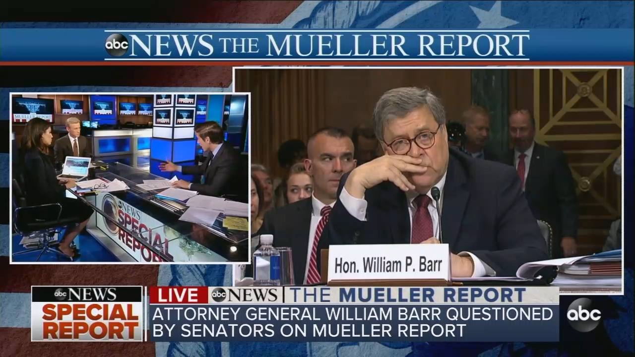 ABC Journalists Seethe Over Barr Testimony, But Abrams Admits Dems