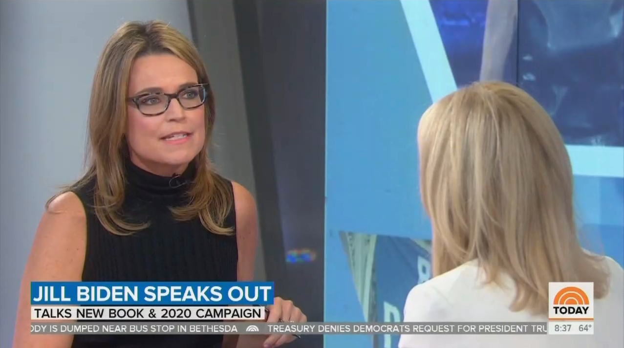 NBC's Guthrie to Jill Biden: Is Trump 'Threat to Very Essence of This Country?'