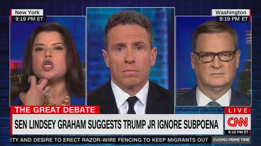 CNN's Ana Navarro Gets Worked Up Over Lindsey Graham Siding With Trump