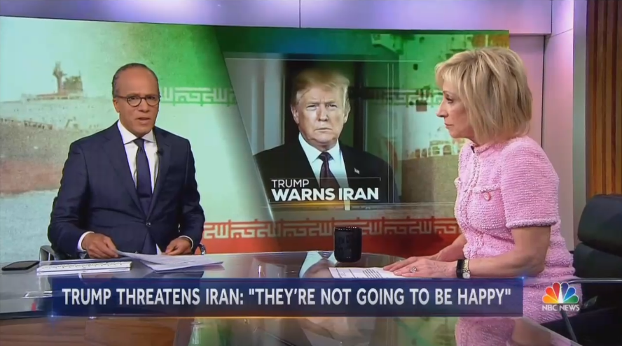 Iran-Friendly NBC Skeptical Their Buddies Behind 'So-Called Sabotage'