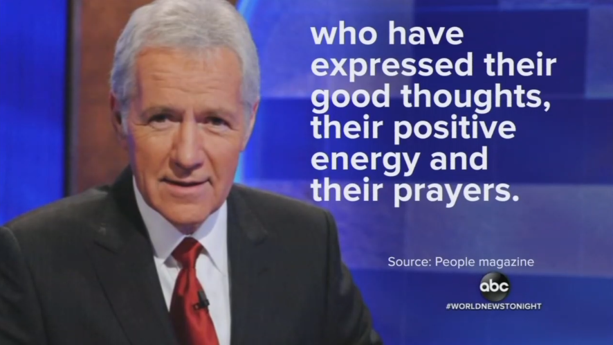 NBC Edits Out Alex Trebek Crediting Prayers With Helping His Cancer Battle