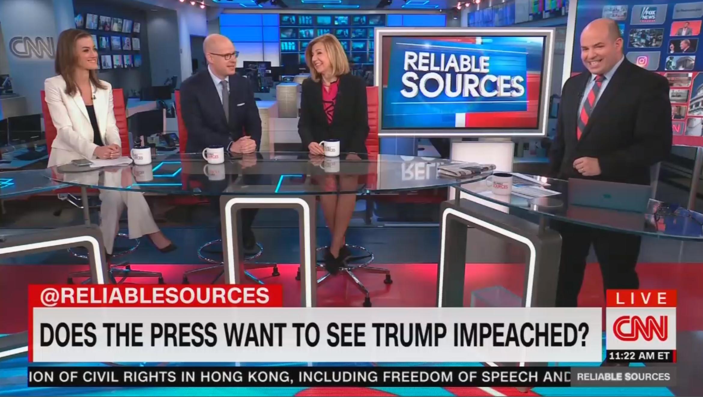 Margaret Sullivan: Media Not Pushing Impeachment, 'Anathema' to the