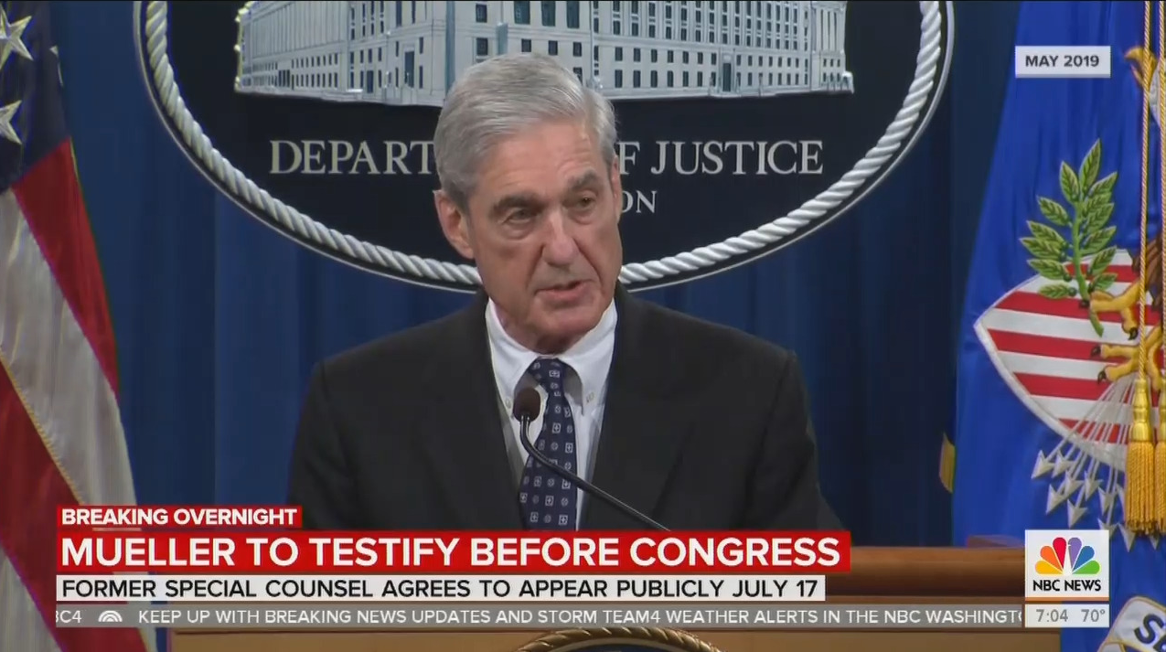 Nets Tout 'Drama,' 'High Theater' of Mueller Hearing as Win for Dems