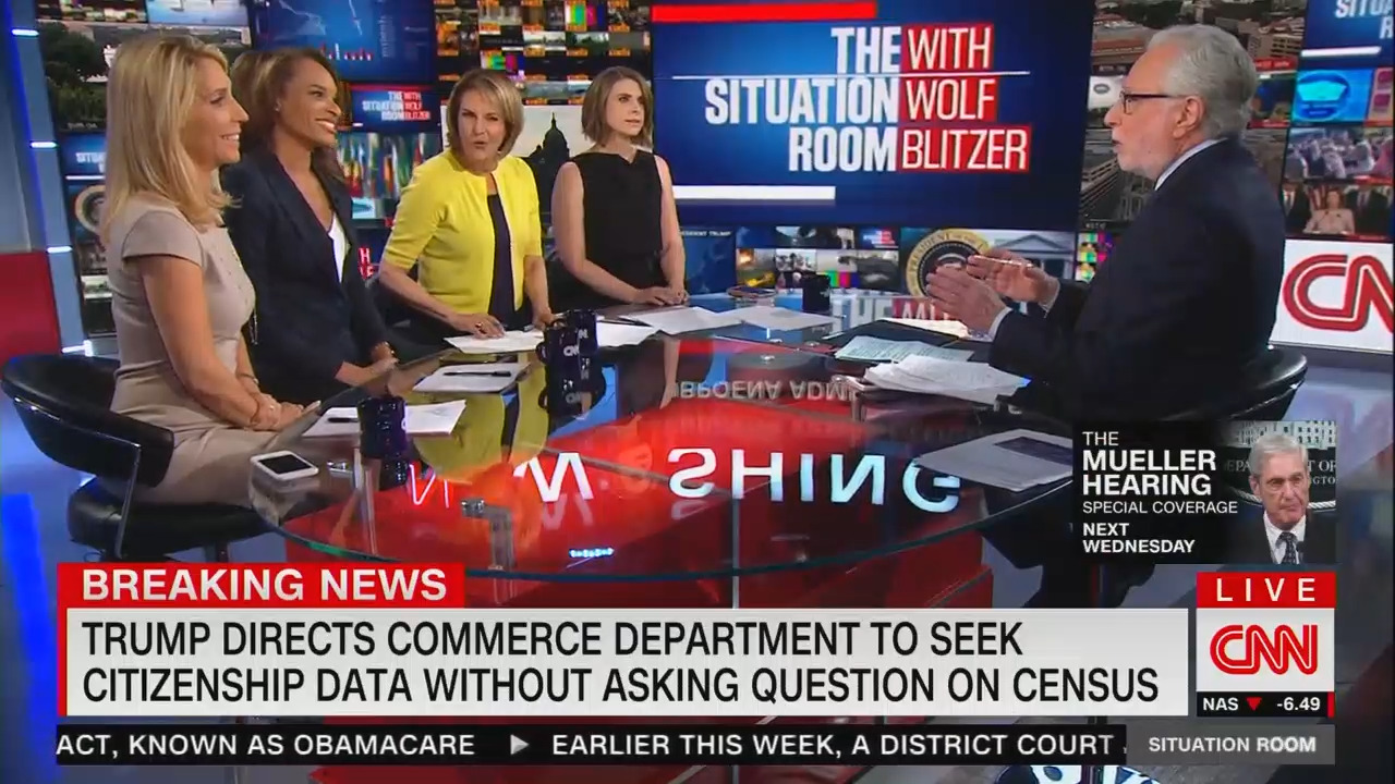 CNN Bashes Trump's Citizenship Speech: 'Nonsense' on ...
