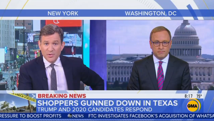 ABC Decides Trump Needs to 'Answer for' Mass Shootings He Caused