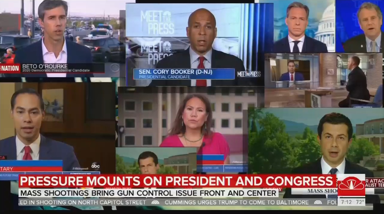 NBC Channels Dems: Trump 'Bears Some Responsibility' for Shooting