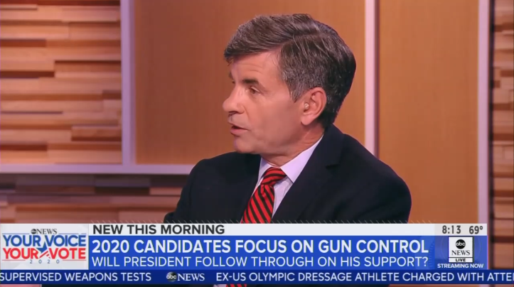 ABC Anchor: If Trump Sides With NRA, No 'Background Checks' fof Guns
