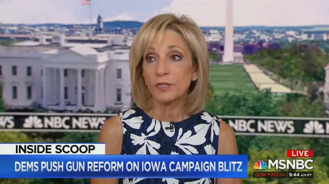 Mitchell Urges Gun Ban: 'Pelosi Should Pick That Up and Run With It'
