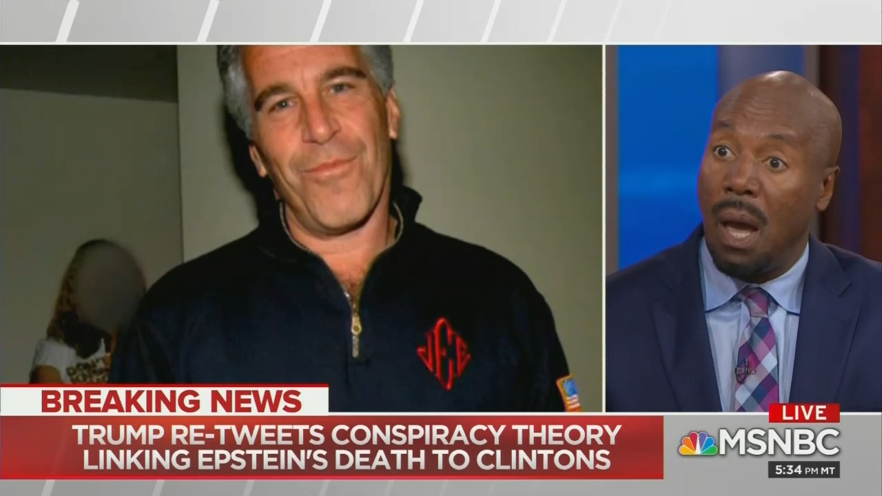 MSNBC Analyst Claims Barr, Trump 'Facilitated Mr. Epstein's Suicide'