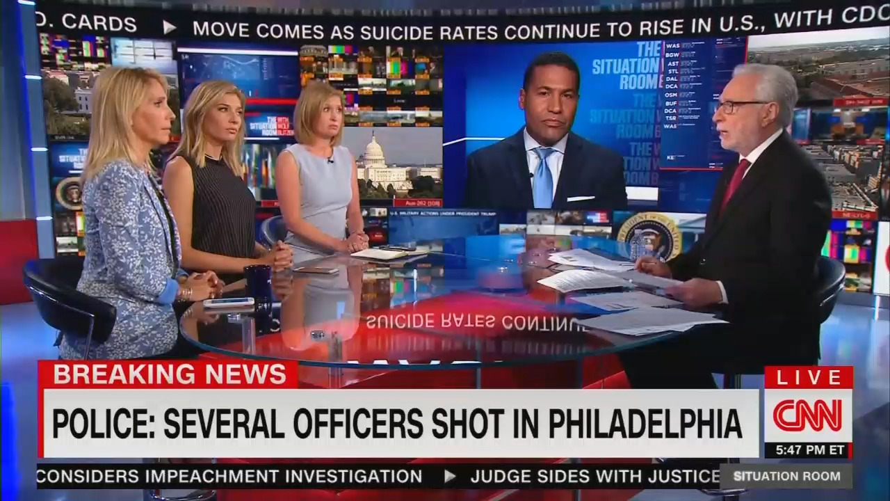 CNN Touts Gun Control Despite Knowing Little About Attack on Police