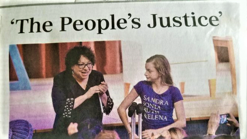 USA TODAY Front Page Oozes Over Sotomayor, 'The People's Justice'