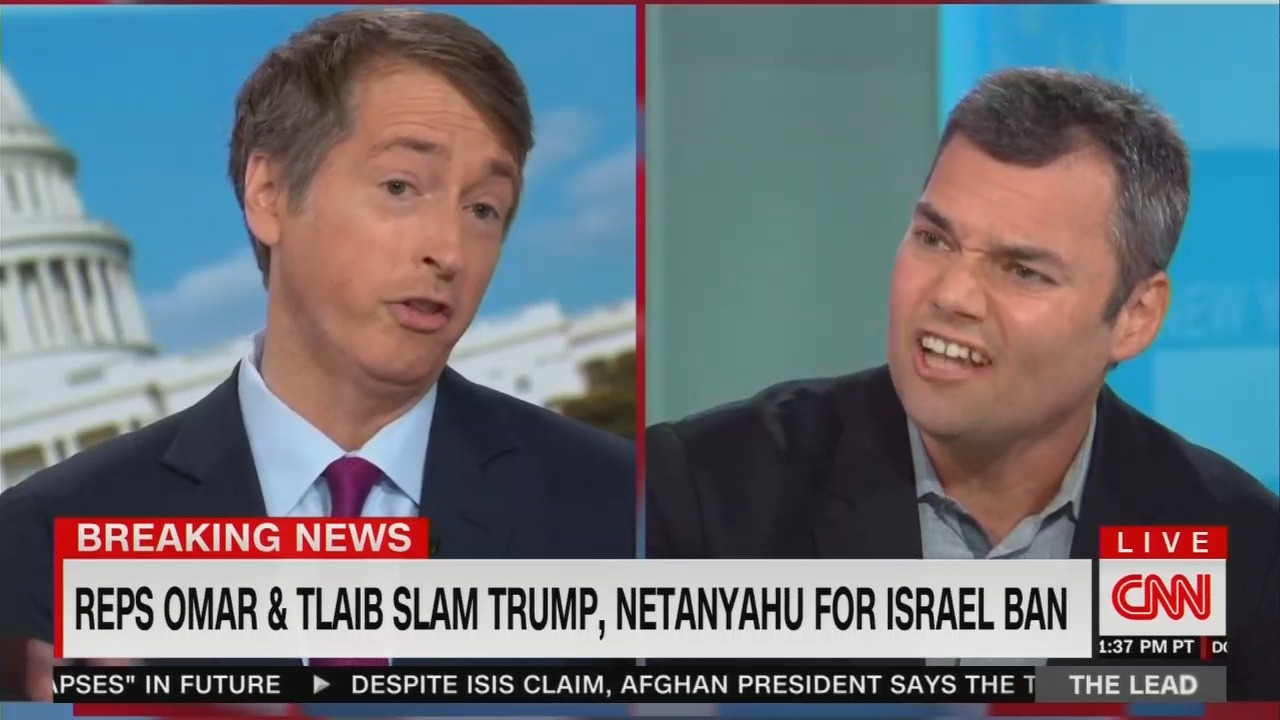 WATCH CNN Lefty Go CRAZY When Lowry Schools Him on Palestinian Terror