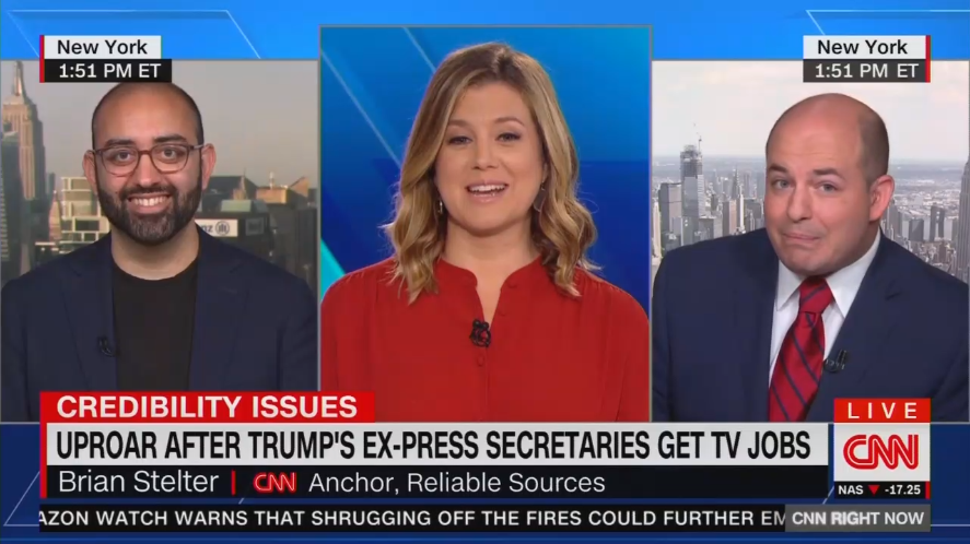 CNN's Stelter Demands 'Outrage and Backlash' for Dancing Sean Spicer
