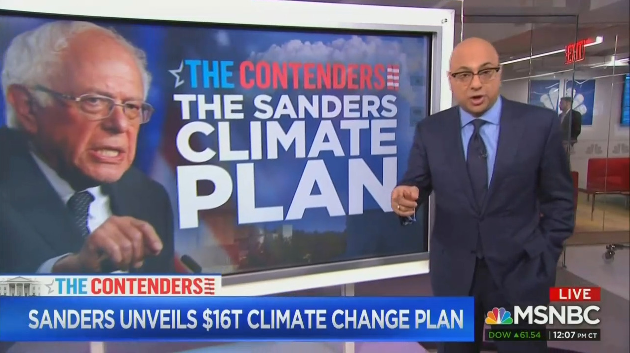 MSNBC Excuses Climate Plan Cost: 'Price to Not Doing Anything'