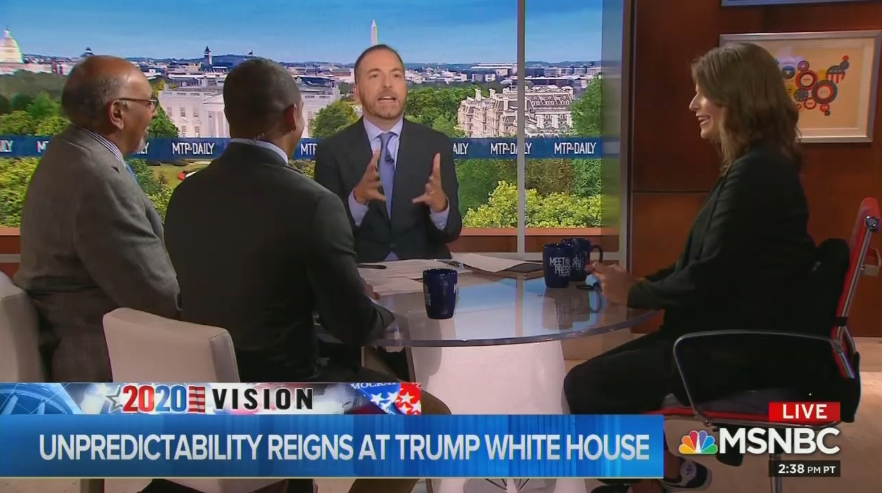 Chuck Todd: 'Nothing Better' Than Being 'Attacked by Donald Trump'